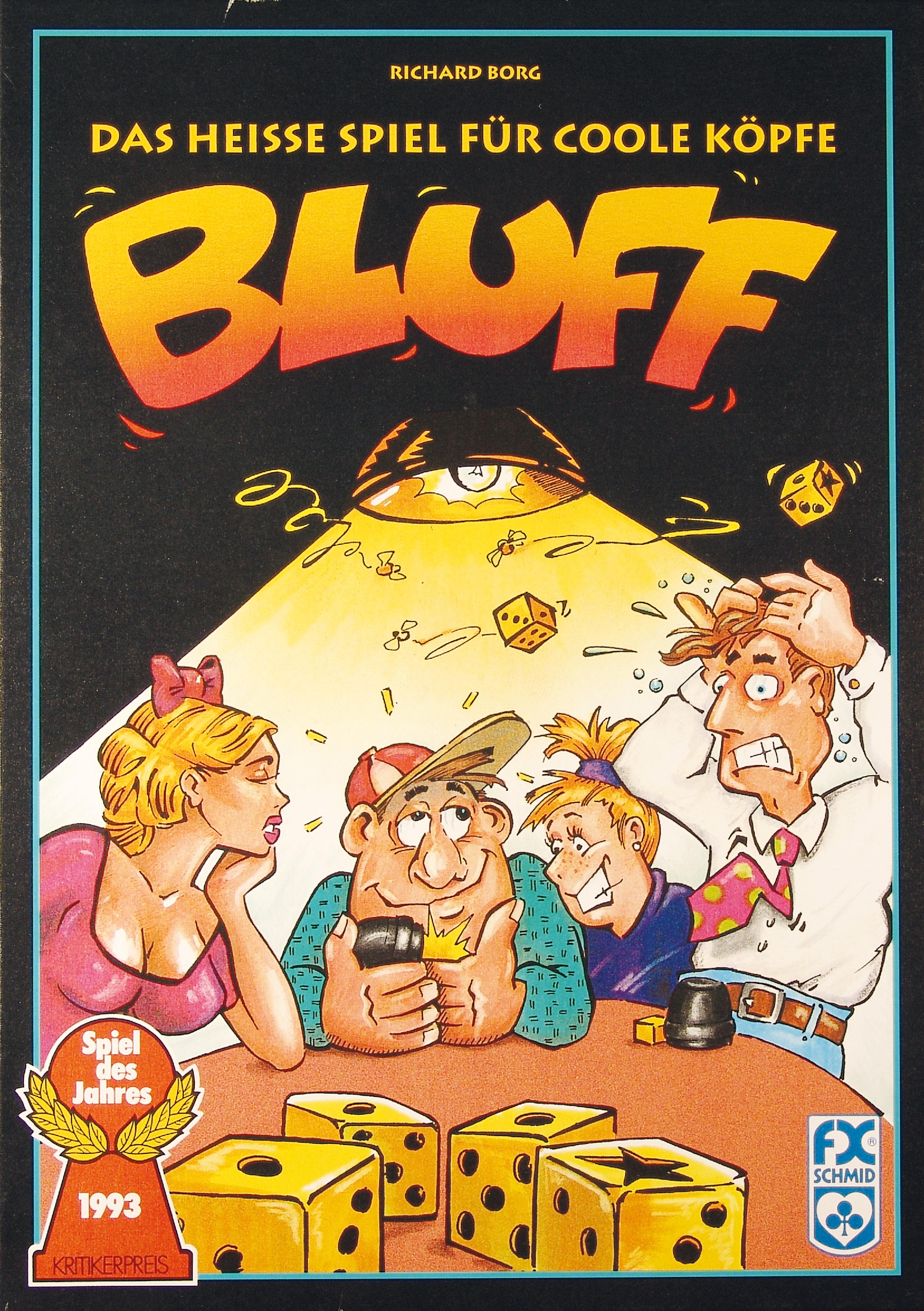 Bluff Spiel