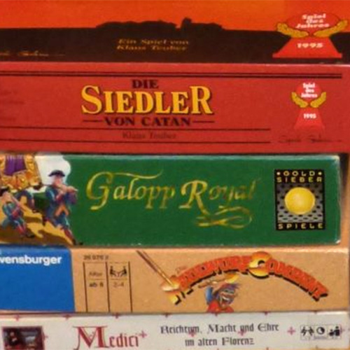 Siedler und andere Spiele